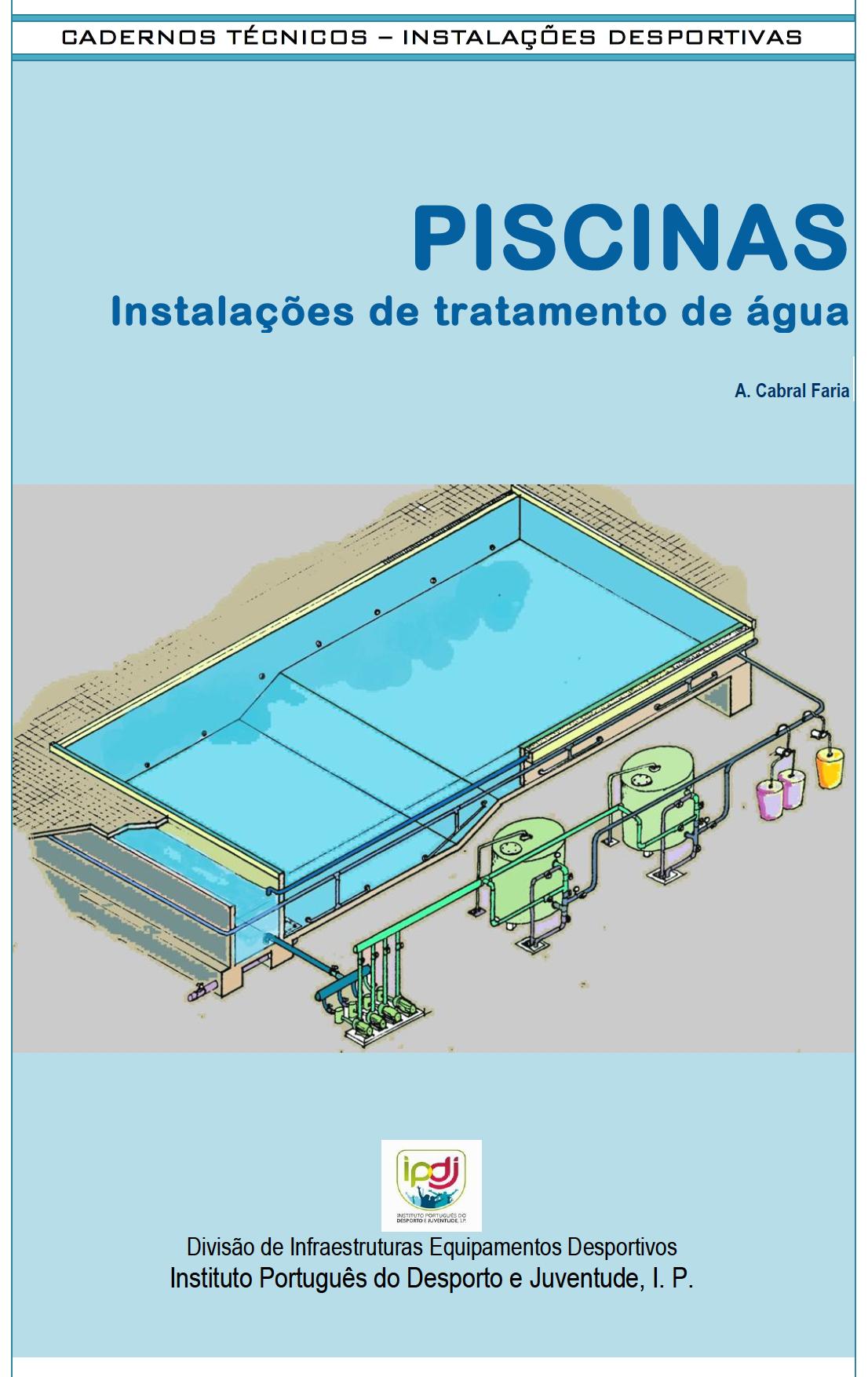 Piscinas Instalacoes de tratamento de agua