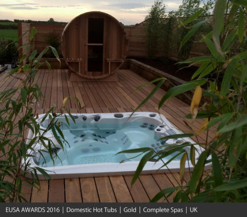 Domestic Hot Tubs 2016